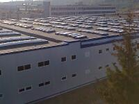 Industrial roofs